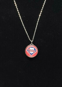 Philadelphia Phillies Charm Necklace MLB Baseball
