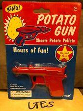 Neato! Potato Gun (Shoot Potato Pellets) Die Cast Metal 2014 Toysmith New
