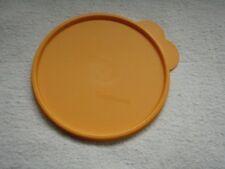 Tupperware Butterfly Tab Replacement Lid # 2541D  SIZE C Orange  NEW