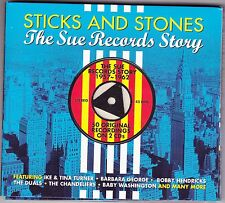 Ike & Tina Turner/Jimmy McGriff+ / The Sue Records Story - Sticks & Stones - 2CD