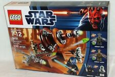 SEALED 9491 LEGO Star Wars GEONOSIAN CANNON Zombie Warrior Gree 132 pc RETIRED
