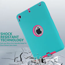 Case for Apple iPad AIR2 6th Rugged Hybrid Shockproof Full Protective Cover