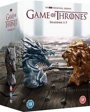 GAME OF THRONES COMPLETE SEASONS 1 2 3 4 5 6 7 DVD BOXSET 67 DISC 1-7