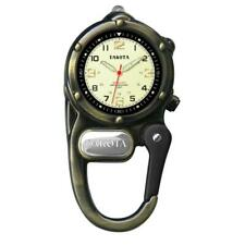 Mini Clip Microlight Up Nurse Watch Gold Carabiner Clip Dakota 38213