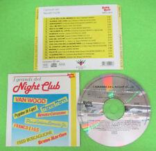CD Compilation  I Grandi Del Night Club BRUNO MARTINO CAROSONE no lp mc dvd(C41)