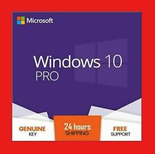 💥 WINDOWS 10 PRO PROFESSIONAL 🔑 GENUINE LICENSE KEY 🔑 FAST DELIVERY WORLDWIDE