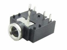 "10x 5PIN 1/8"" 3.5mm Stereo Jack Headphones Socket PCB Panel Mount NEW"