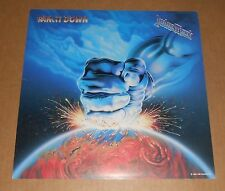Judas Priest Ram It Down 2-Sided Flat Square Promo 1988 Poster 12x12