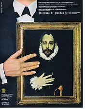 PUBLICITE ADVERTISING 114 1964 Les chemises MARQUES de BONDAD REAL