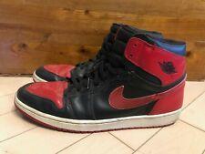 competitive price 44a5e efa1a 2001 Nike Jordan 1 Retro Rojo Air Negro Raza I Talla 13
