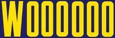 Wooooo   Ric Flair   WWE WCW Wrestling  Travel decal    vinyl Bumper Sticker