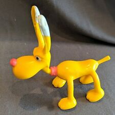 Inspector Gadget BRAIN Dog Cartoon BENDY Bendable Action Figure Toy 1992 Tiger