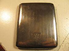 Vintage Pat.1916 W. & H. Co. Art Deco KLEVER KASE Sterling Silver Cigarette Case