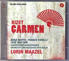 BIZET CARMEN Anna Moffo Franco Corelli MAAZEL 2CD Cappucilli Donath Arleen Auger