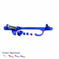 4150 4160 Aluminum Series Black Billet Throttle Cable Carb Bracket Blue