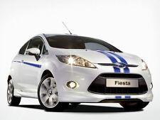 Original Ford Fiesta Digital Rayas En Azul-Frontal y parachoques trasero (1702785)