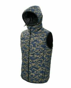 Daiwa Carp Camo Gilet Jacket  Fishing Body Warmer RRP£69.99 SIZE MEDIUM   CCG-M