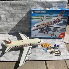 Playmobil 4310 Large Jet Liner, Box & Characters - Read Description