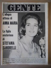 GENTE n°14 1965 Anna Maria di Grecia Stefania Sandrelli [G317]