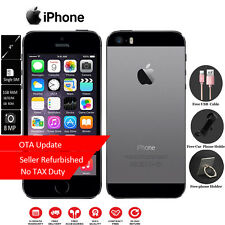 Apple iPhone 5S 16GB ROM Grey Unlocked SIM FREE Grade A Touch ID 1 Year Warranty