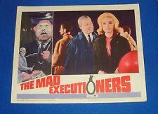 Original 1965 The Mad Executioners Lobby Card