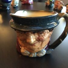 Vintage Royal Doulton Toby Jug Tony Weller Small Dickens' PICKWICK PAPERS