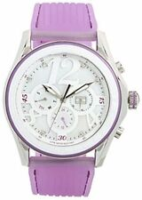 newstuffdaily: NIB TOMMY HILFIGER Light Purple Silicone Ladies Sports Watch