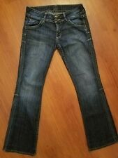 HUDSON Jeans size 28 x 30 Boot cut Stretch Button Pockets Elm Dark Wash