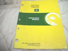 OMN200083 JOHN DEERE 960 DRAWN FIELD CULTIVATOR OPERATOR OWNERS MANUAL
