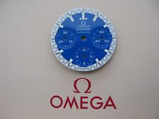 Brand New Omega Speedmaster Automatic Reduced Schumacher Chronograph Blue Dial