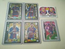 Match Attax EXTRA 19//20 Set de Barcelone Foil Cards Inc Or Feuilles