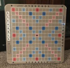 Scrabble Deluxe Edition Game Board Replacement Only