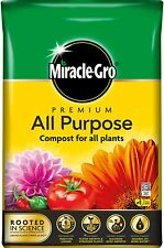 More details for miracle-gro all purpose enriched compost 40l soil potted plants flowers garden