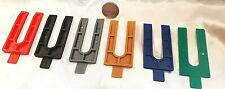 288 x  Kunststoff Keile Ausgleichskeile Montage Laminat Parkett Set farbig1-6 mm