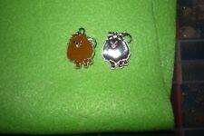Pomeranian Dog Earrings 1 Pr