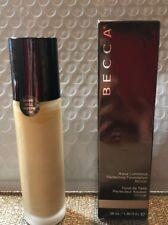 Becca Aqua Luminous Perfecting Foundation -   Beige - 1 oz NIB! Authentic Only