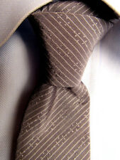 Men's Ben Sherman Gray Silk Cotton Skinny Tie A28588