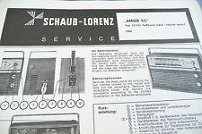 Service Manual-Anleitung für Schaub-Lorenz Amigo S L, 121151