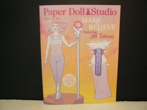 "Paper Dolls, Paper Studio ""Make Believe"" Issue #128, 2020, 47 Pg Magazine"