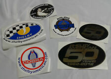 Shelby American 6-Piece Decal Set - Shelby OEM, Obsolete