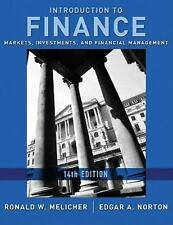Introduction to Finance: Markets, Investments, and Financial Management 14th Ed.