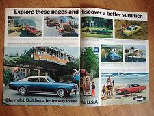 New listing 1972 Chevrolet Chevelle Malibu Ad Six Flags Georgia Vega Monte Carlo Nova