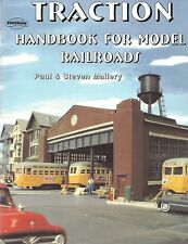 TRACTION HANDBOOK for Model Railroads: modeling techniques, design (NEW BOOK)