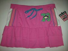 Bobby Jack Skort Girls Original Monkey 73 Sz 12-14 Large Pink Layered Piping NWT