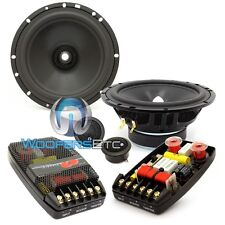 "CDT AUDIO CL-650 6.5"" 4-OHM 2-WAY COMPONENT SPEAKERS MIDS CROSSOVERS TWEETERS"