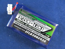 1 New Turnigy nano-tech 450mAh 2S 65C Lipo E-Flite Blade 130X Battery upgrade