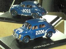 BELLE RENAULT 4CV 1063 MILLE MIGLIA 1954/ ELIGOR