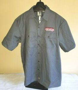 New NOTag Dickies Humboldt County CA Mad River Brewing Size 2XL Shirt W/Pockets