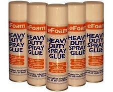 More details for 500ml heavy duty spray adhesive glue for foam carpet tile craft fabric packaging