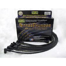 Taylor Spark Plug Wire Set 51018; Street Thunder 8mm Black for Jeep 6 Cylinder